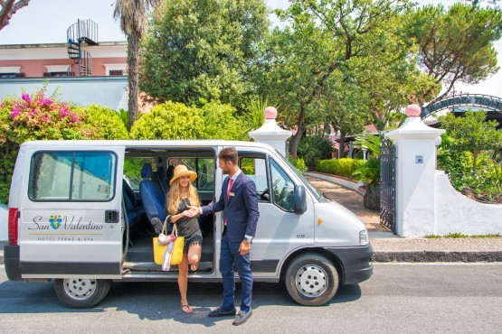 Free Shuttle Service from the Hotel to the beach and the town centre